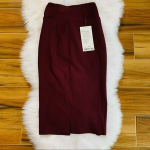 A new route skirt lululemon cassis red new NWT